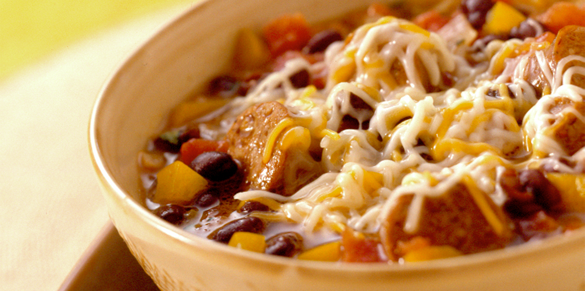 Sausage Black Bean Stew | Sargento® 4 Cheese Mexican