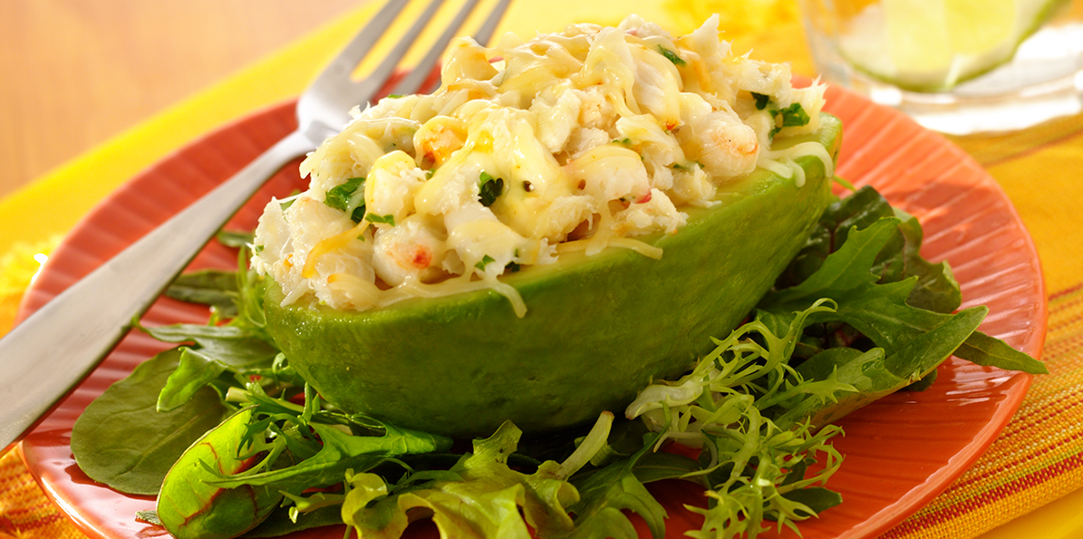 Warm Crab, Cheese & Avocado Salad | Sargento