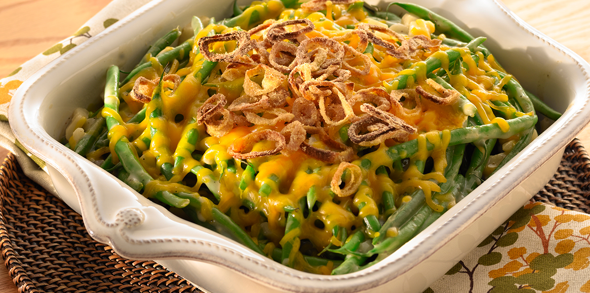 Green Beans with Cheddar Recipe | Sargento® Mild Cheddar Cheese