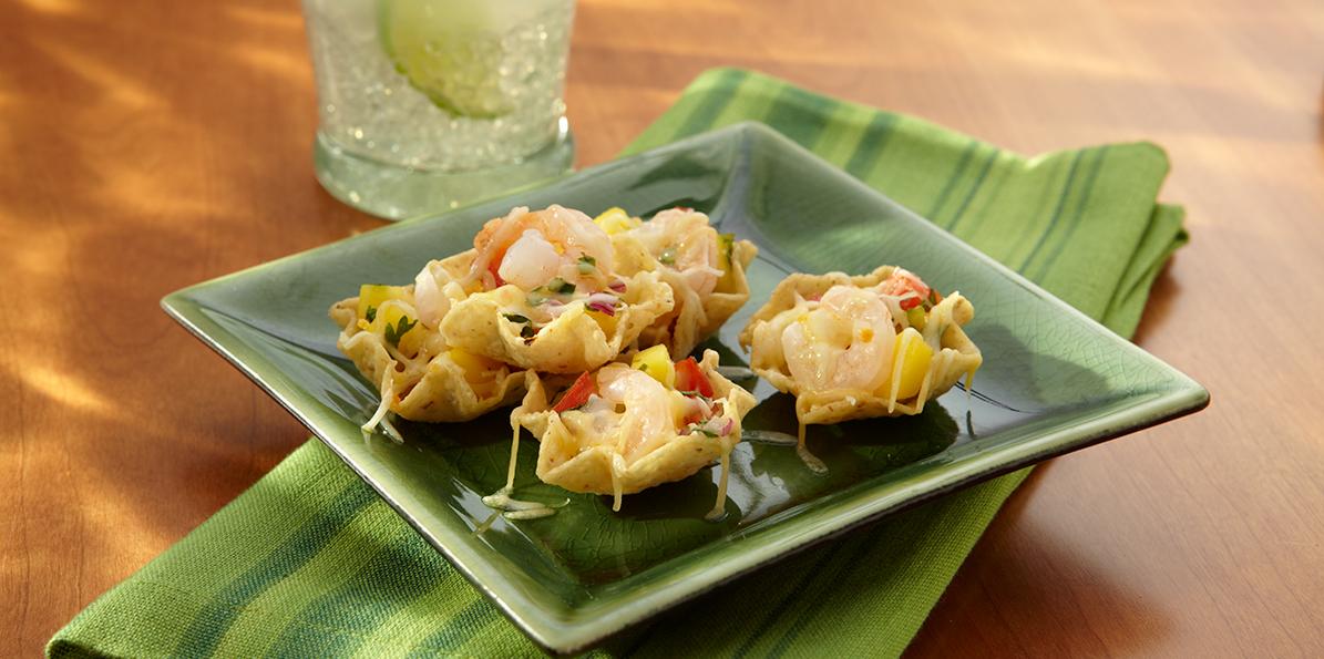 Shrimp Nachos con Mango Salsa | Sargento 4 Cheese Mexican Blend