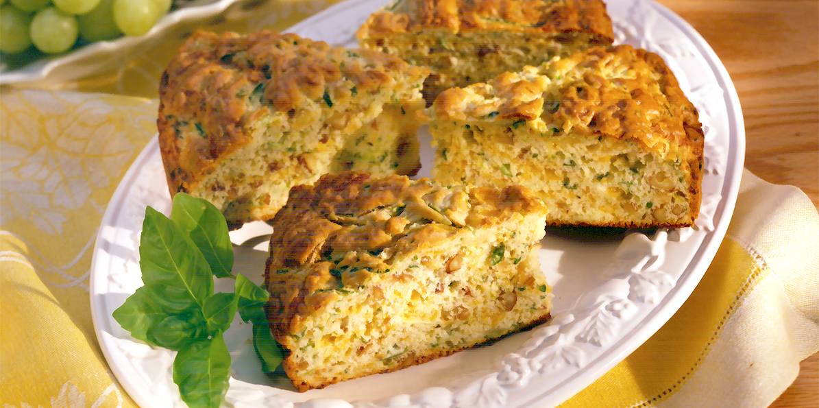 Zucchini-Cheddar Bread | Sargento