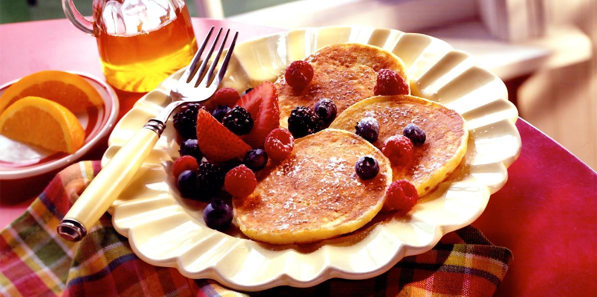 Orange Ricotta Pancakes | Sargento