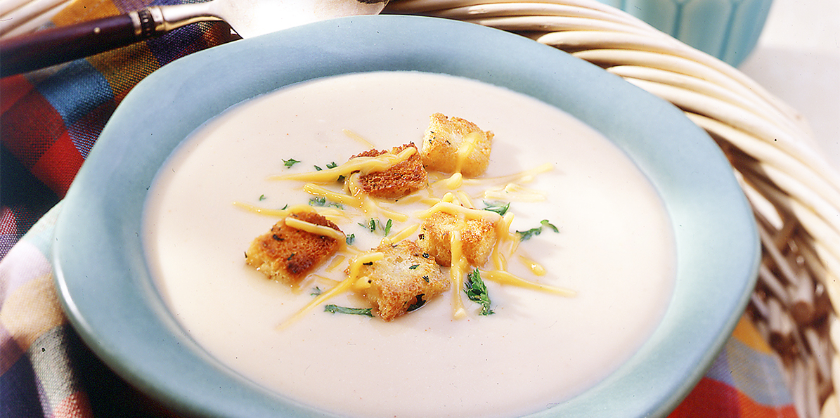 Wisconsin Cheddar Cheese Soup | Sargento