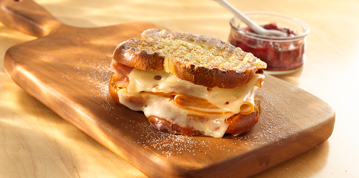 Monte Cristo Panini | Sargento® Sliced Baby Swiss Cheese