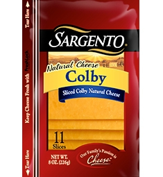 Sargento® Sliced Colby Cheese