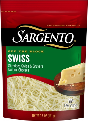 Sargento® Shredded Swiss Cheese