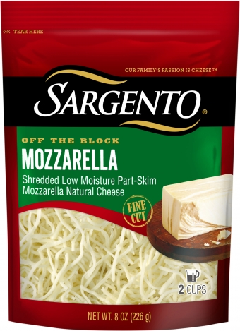 Sargento® Shredded Mozzarella - Fine Cut