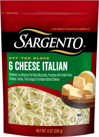 Sargento® Shredded 6 Cheese Italian