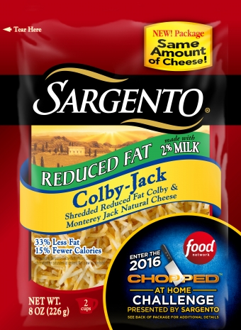 Sargento® Shredded Reduced Fat Colby-Jack Cheese