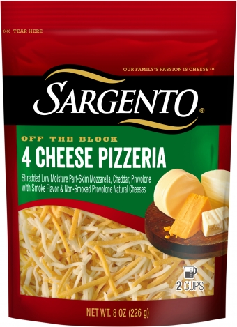 Sargento® Shredded 4 Cheese Pizzeria