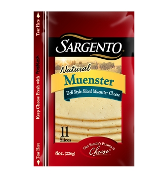 Sargento® Sliced Muenster Cheese