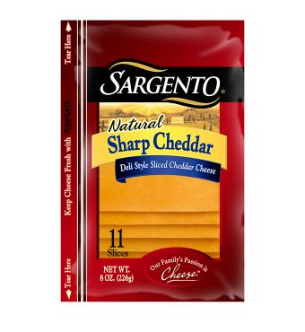 Sargento® Sliced Sharp Cheddar Cheese