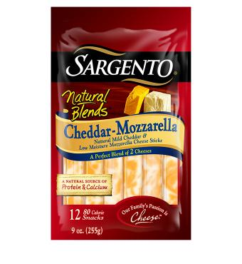 Sargento® Natural Blends® Cheddar-Mozzarella Cheese Sticks