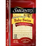 Sargento® Sliced Baby Swiss Cheese