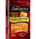 Sargento® Natural Blends® Sliced Cheddar-Mozzarella Cheese
