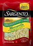 Sargento® Shredded Reduced Fat Mozzarella