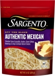 Sargento® Shredded Authentic Mexican Cheese