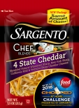 Sargento® Chef Blends® Shredded 4 State Cheddar® Cheese