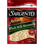 Sargento® Artisan Blends® Shredded Whole Milk Mozzarella