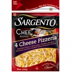 Sargento® Chef Blends® Shredded 4 Cheese Pizzeria