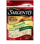 Sargento® Traditional Cut Shredded Mozzarella