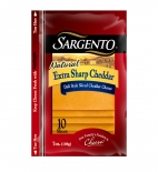 Sargento® Sliced Extra Sharp Cheddar Cheese