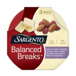 Balanced Breaks™ Natural White Cheddar with Almonds and Cranberries