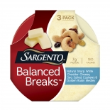 Balanced Breaks™ Natural Sharp White Cheddar Cheese with Cashews and Raisins