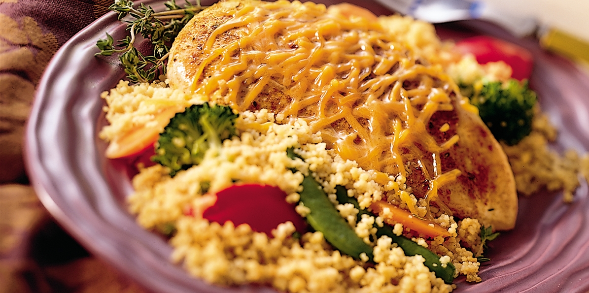 Spicy Chicken Vegetable Couscous