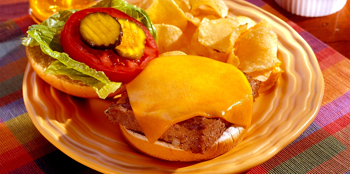 Easy Baked Cheeseburgers