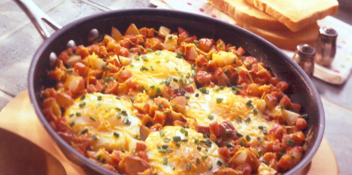 Skillet Breakfast | Sargento Cheese Recipe