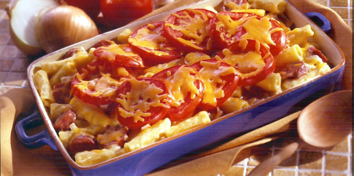 Rigatoni Casserole Recipe | Sargento® Cheese & Smoked Sausage Slices
