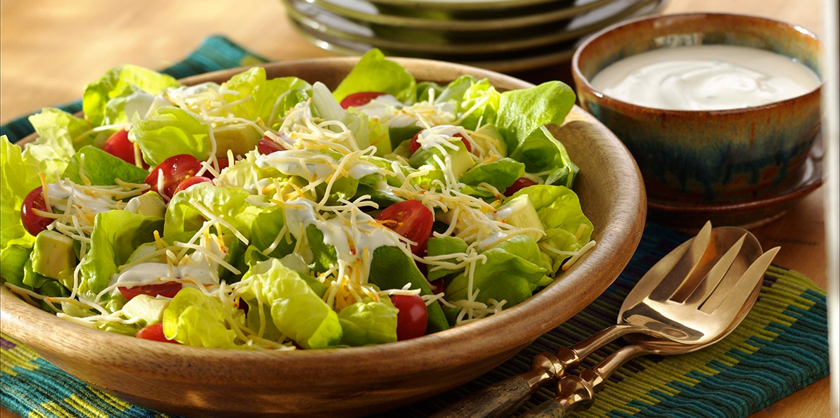 Simple Bibb Cheese Salad Recipe | Sargento® Authentic Mexican Cheese