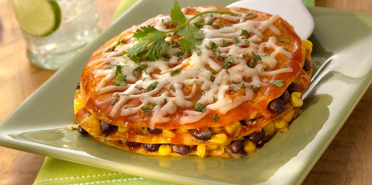 Spicy Enchilada Stacks