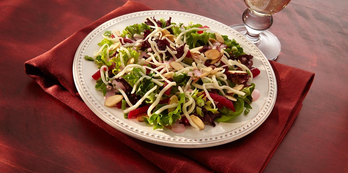 Mozzarella Mesclun Salad