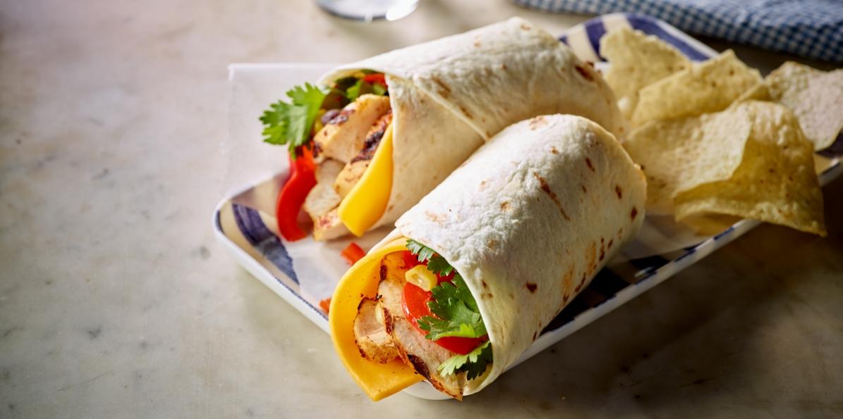 Southwestern Grilled Chicken Wrap