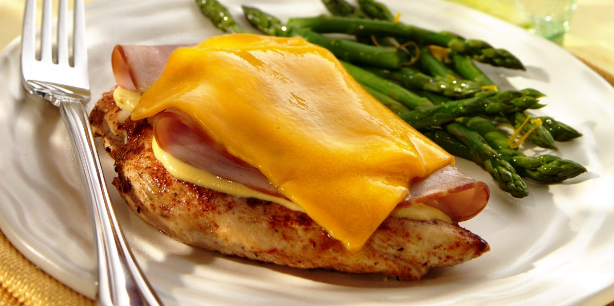Wisconsin Style Chicken Cordon Bleu
