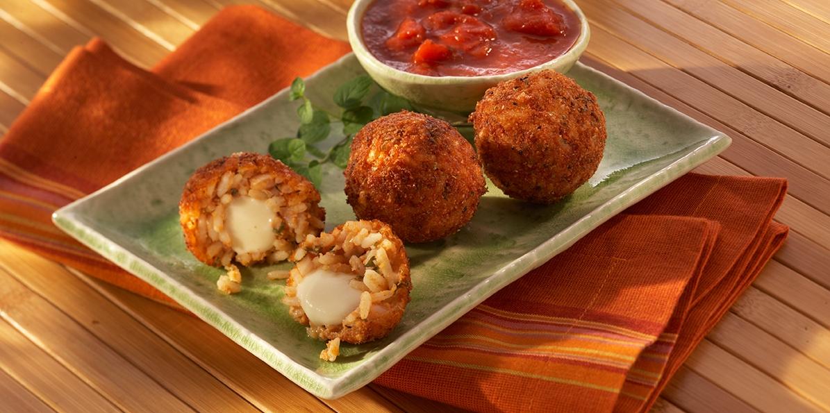 Mozzarella Rice Balls