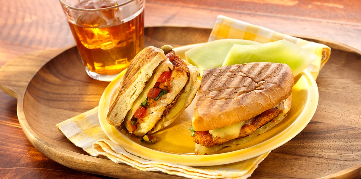 Mexican Fried Chicken Torta   Sargento® Pepper Jack