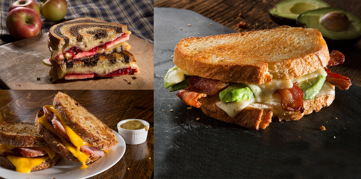 Grilled Cheese 3 Ways