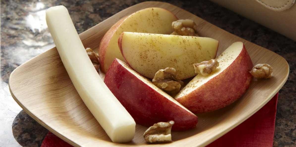 Apple-Nut Cheese Snack