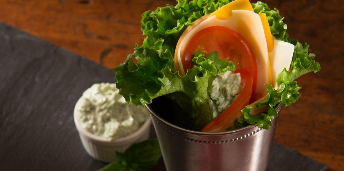Cheesy Lettuce Rollups