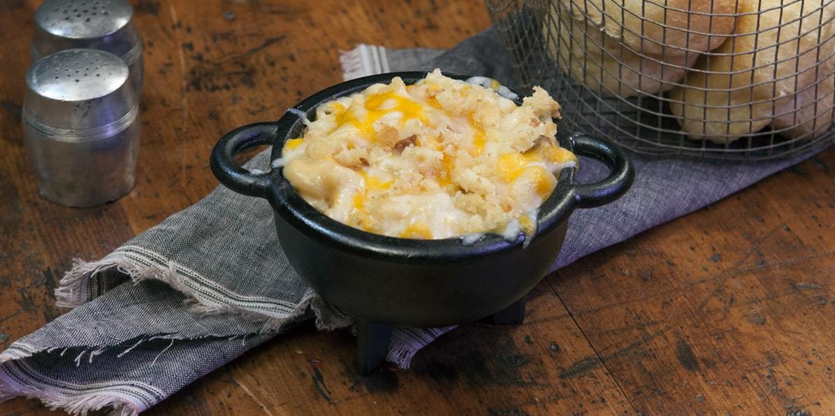Mac & Cheese with Porcini Mushrooms