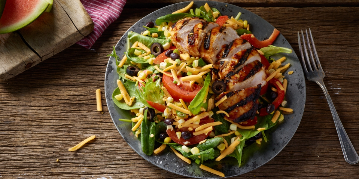 BBQ'D Ranchero Chicken Salad