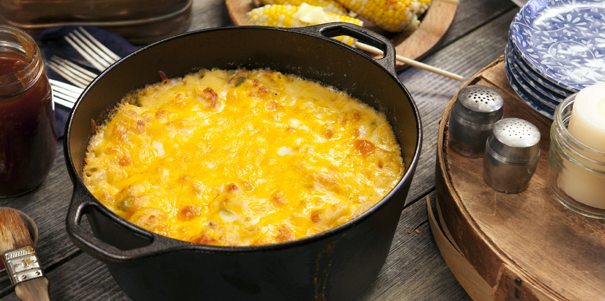 Southern Style Cheese Lovers Mac & Cheese