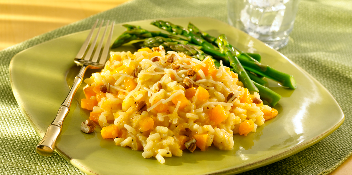 Risotto with Butternut Squash and Parmesan   Sargento