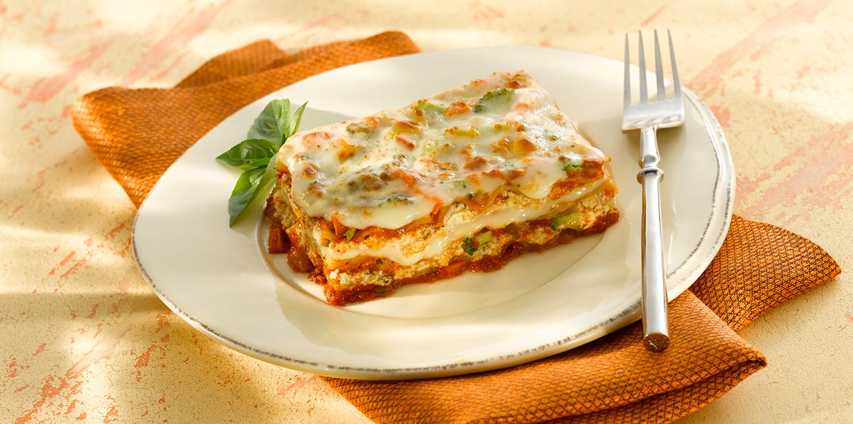 Vegetable Lasagna Recipe Sargento 174 Part Skim Ricotta Cheese
