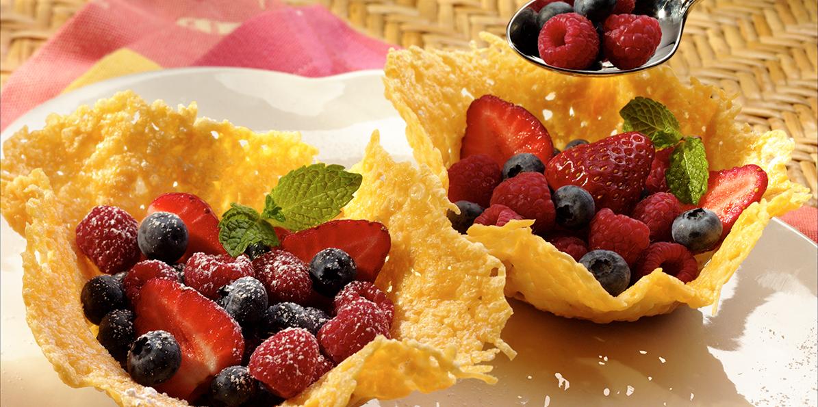 Edible Parmesan Bowls Recipe Sargento 174 Shredded Parmesan