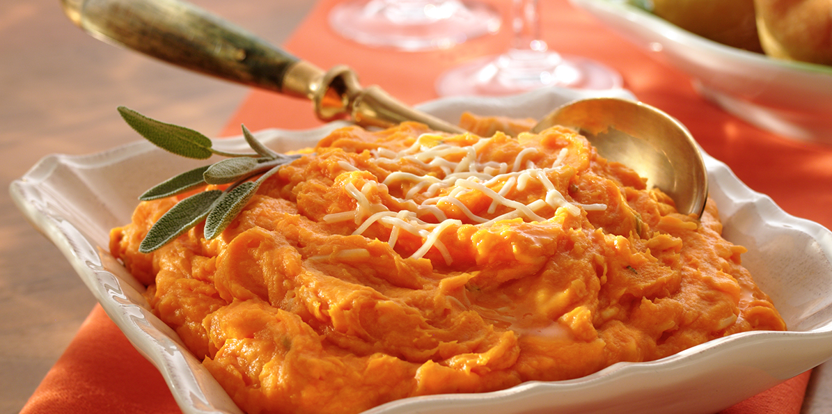 Sweet Potato Puree Recipe | Sargento® Shredded Mozzarella & Provolone ...