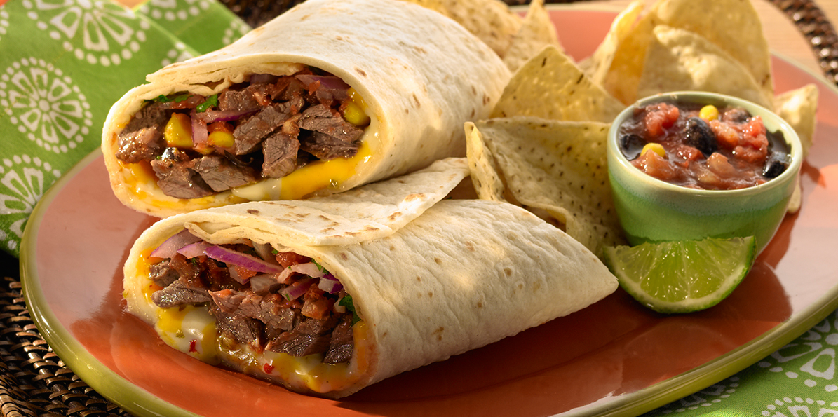 Mexican Grilled Steak Wraps   Sargento® Sliced Colby-Pepper Jack